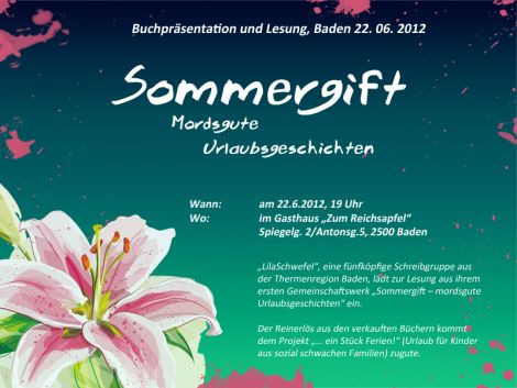 Sommergift Flyer